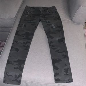 Hudson Camo Jeans